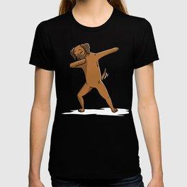 Funny Dabbing Rhodesian Ridgeback Dog Dab Dance T-shirt