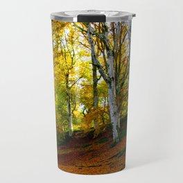Autumn Trees Woodland Travel Mug