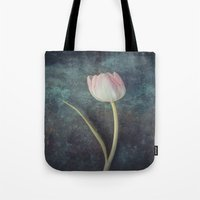 tulip Tote Bags featuring Tulip by Maria Heyens
