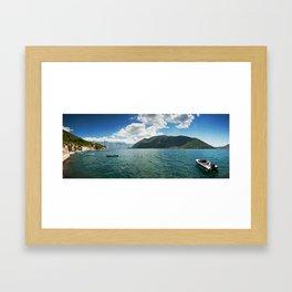 Perast Framed Art Print