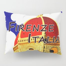 Firenze - Florence Italy Travel Pillow Sham