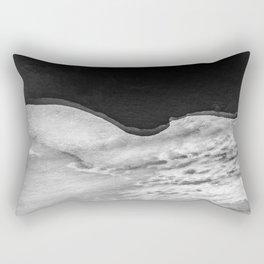 Ice on water Rectangular Pillow