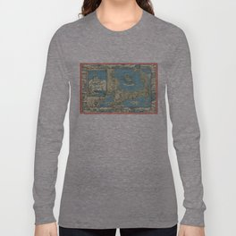 Vintage Map of Cape Cod (1945)  Long Sleeve T-shirt