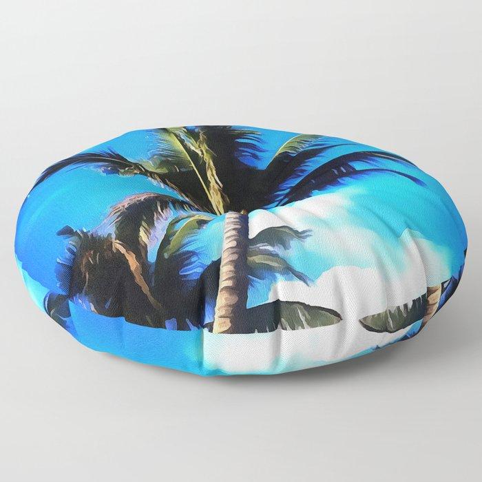 Bahamas Floor Pillow