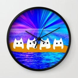 cat-160 Wall Clock