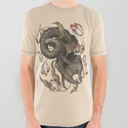 Breaking, Rectifying All Over Graphic Tee