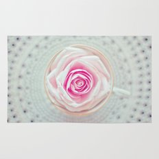 A Cup Of Rose Rug