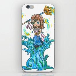 Dancing on Water iPhone Skin