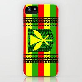 Tribal Kanaka Maoli iPhone Case