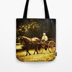 A Gentleman's Ride Tote Bag