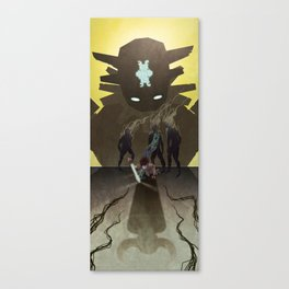 Shadow of the Colossus - Illustration Canvas Print