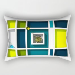 Abstract Glass Cherries 6 by THE-LEMON-WATCH Rectangular Pillow