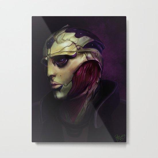 Mass Effect: Thane Krios Metal Print