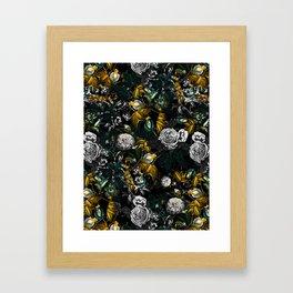 EXOTIC GARDEN - NIGHT Framed Art Print