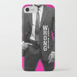 Wrong by Jana Aston iPhone Case