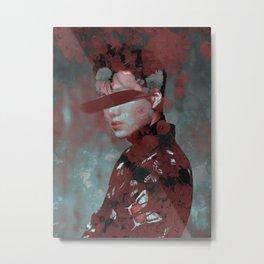 Toxic Silk | Kai Metal Print