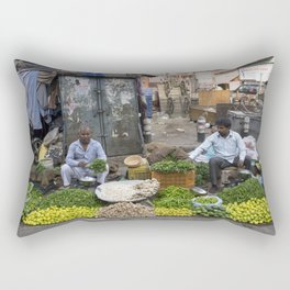 Limes Lemons and spices Rectangular Pillow