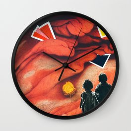 The maze of meat Wall Clock