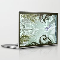 tiffany Laptop & iPad Skins featuring tiffany lake by Ariadne