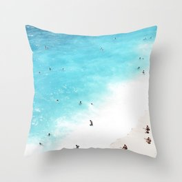people of the sea Throw Pillow