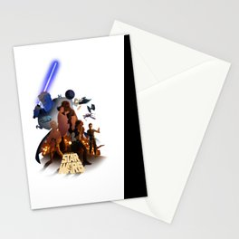 I grew up with a new hope 2 Stationery Cards