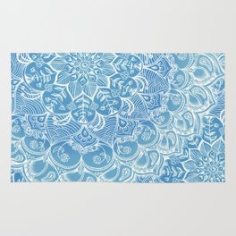 Blueberry Lace Rug