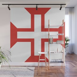 Cross of the Order of Christ Wall Mural