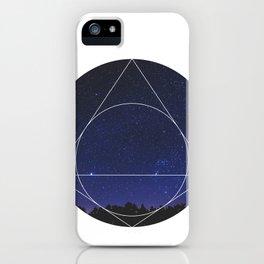 Magical Universe - Geometric Photographic iPhone Case