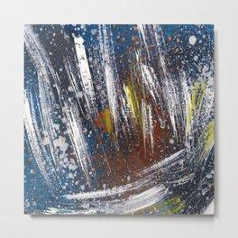 Cosmic blue space Metal Print
