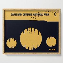 Carlsbad Caverns National Park Serving Tray