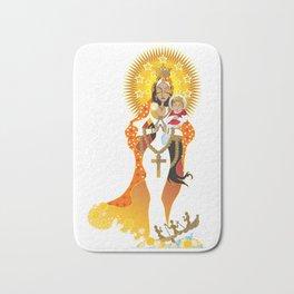 La Virgen de la Caridad del Cobre Bath Mat