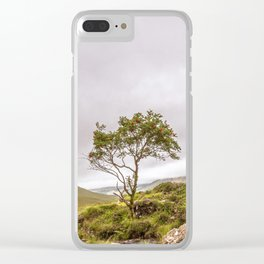 Mountain Ash Clear iPhone Case