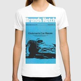 Vintage British 1970s Race Poster T-shirt