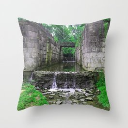 Side Cut Symphony Throw Pillow