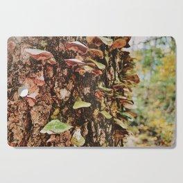 Rainbow Mushroom Fungi Cutting Board