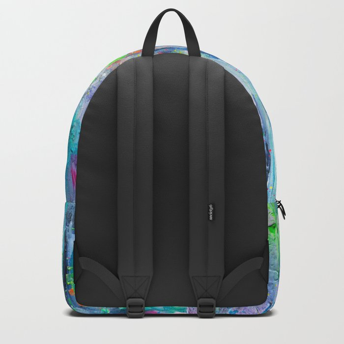 Silver Rain Backpack