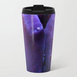 two lips in the purple rain Travel Mug