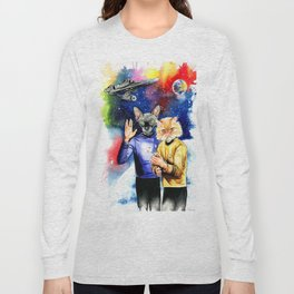 Star Trek sphynx Long Sleeve T-shirt