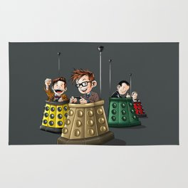 Doctor Who Bumper Cars Rug