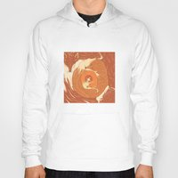 foxes Hoodies featuring Foxes by Beesants