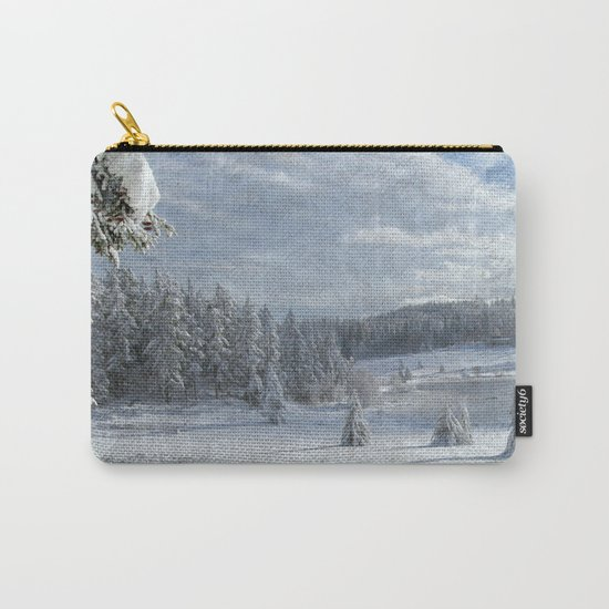Scenery forest Winter Wonderland Carry-All Pouch