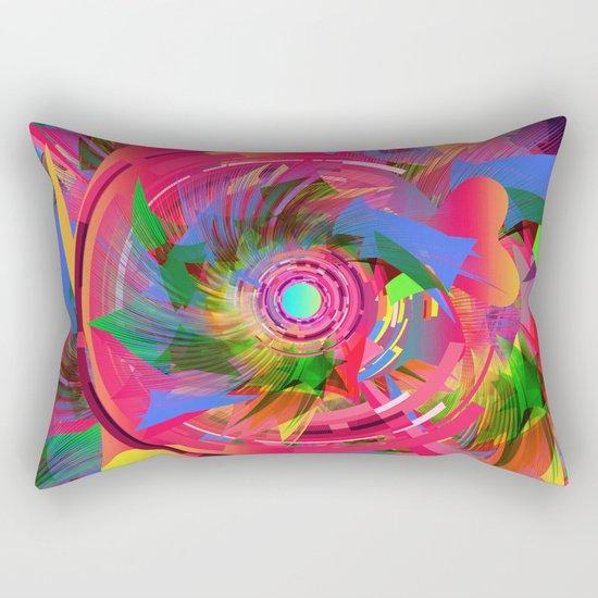 Fun Hole Rectangular Pillow