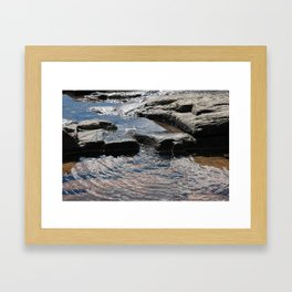 Trickle on Down Framed Art Print