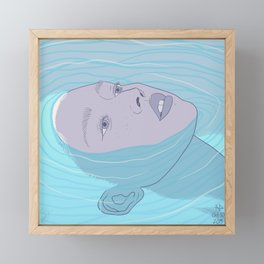 Sink Framed Mini Art Print