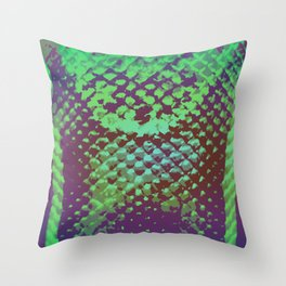 A Scaly Surprise Throw Pillow