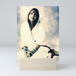 Sri Ma Anandamayi - Hindu Saint - for Blessings and Protection Mini Art Print