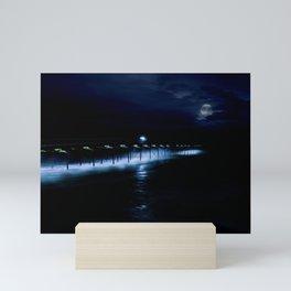 Blue Dreamer Mini Art Print