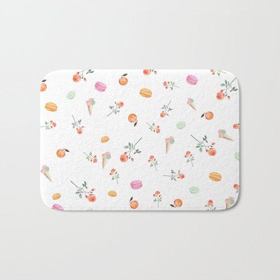 ROSES & MACARONS Bath Mat