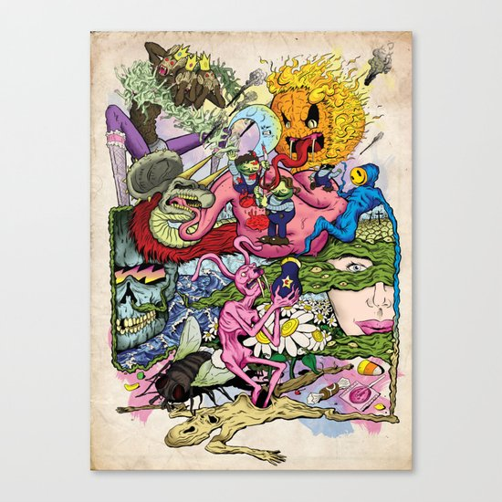 Rabbit Valley Canvas Print