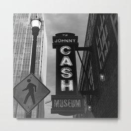 Cash in Nashville Metal Print
